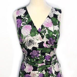 Dresses & Skirts - Perfect Floral Cocktail Dress w/ Pockets, EUC 12p
